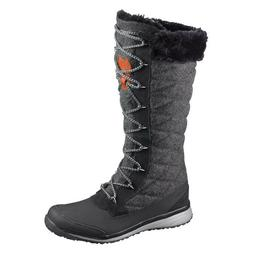NEW Salomon Hime High Winter Boots- Grey/Black Size 8- Faux