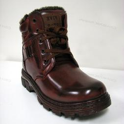 new men s winter boots brown ankle