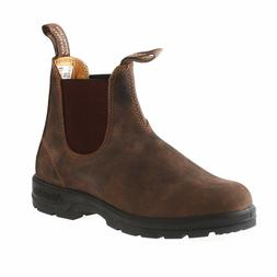 new style 585 rustic brown leather boots