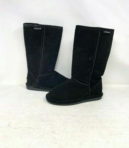 NEW! Bearpaw Women's Cloud Winter Boots Black #115W 9U1,2 ry