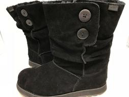 NEW! Skechers Women's KEEPSAKES FREEZING TEMPS Boots Black #