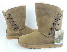 NEW Bearpaw Womens Brown Winter Boots Shoes 8 Medium  New -