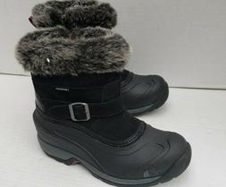 New Womens ChilKat III Black Winter Boots Zipper Insulated W