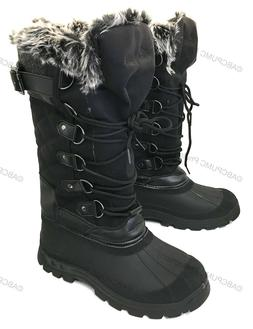 new womens winter boots fur water resistant