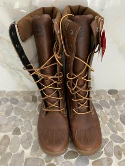 NEW Timberland Woodhaven Tall Waterproof Boots Women's  Brow