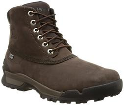"Sorel Men's Paxson 6"" Outdry Snow Boot, Tobacco, Stout, 15 D"