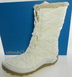COLUMBIA POWDER SUMMIT II MID WOMEN'S IVORY WATERPROOF WINTE