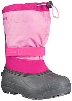 Columbia Powderbug Plus II Girls Canvas Boots