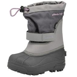 Columbia Powderbug Plus II Waterproof Winter Boot,Charcoal/H