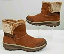 Skechers Relaxed Memory Foam Easy Going Quantum Winter Boots