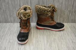 Dream Pairs River 2 Winter Boots - Women's Size 9, Brown - N