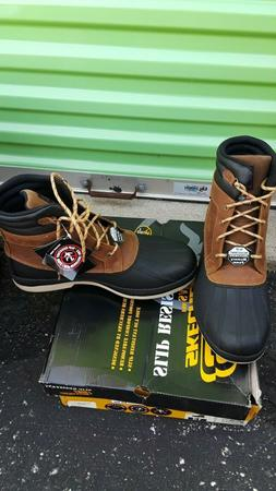 SKECHERS ROBARDS 77065 WINTER BOOT BR/SIZE 13