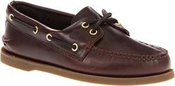 Sperry Top-Sider Men's Authentic 2-Eye Boat Shoe, Amaretto,
