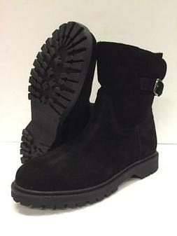 Skechers SN48717 Coze Suede Low Mid Calf Winter Boots Shoes