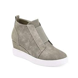 Susanny Womens Fashion Sneakers Ankle Zip Boots Platform Wed