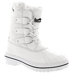 Womens Snow Boot Nylon Short Fur Rain Winter Waterproof Snow