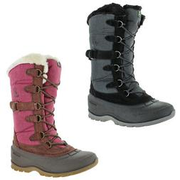 snowvalley 2 women s waterproof nylon suede