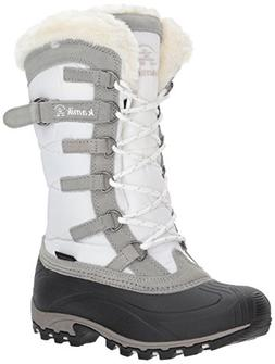 Women's Kamik Snowvalley Waterproof Boot With Faux Fur Cuff,