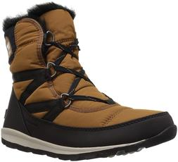 SOREL Women's Whitney Short Lace Snow Boot Warm Winter Shoes