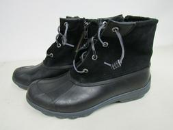 Sperry Top-Sider Women's Black Syren Gulf STS80422 Boots sz