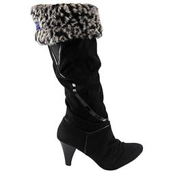 Sperry Top-Sider Women's Oceloet Fur Cuff Pelican Boot Liner