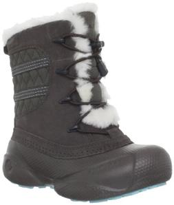Columbia Sportswear Heather Canyon Winter Boot ,Mud/Clear Bl