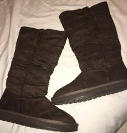 Skechers Tall Boots Nwot Size 8 Ladies Brown
