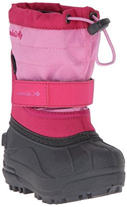 Columbia Toddler Powderbug Plus Winter Boot , Glamour/Orchid