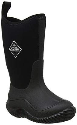 Muck Boots Hale Multi-Season Kids' Rubber Boot,Black/Black,5