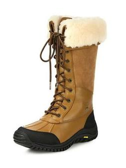 Ugg Adirondack Tall Otter Brown Winter Snow Boots Womens Siz
