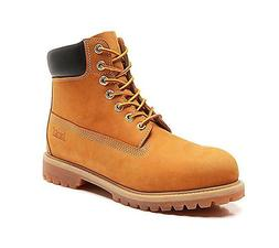 Water Resistant Shoe Winter Snow Work Boots Mens Genuine Lea