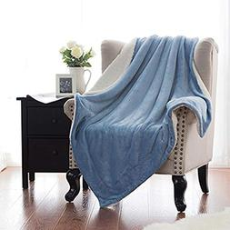 Winter Artifact Blanket Warm Soft Fleece Blankets Double Lay