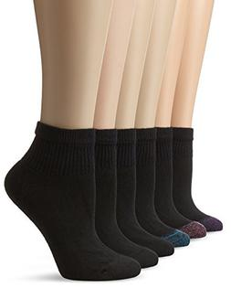 Hanes Women's Ankle Socks 6-pack