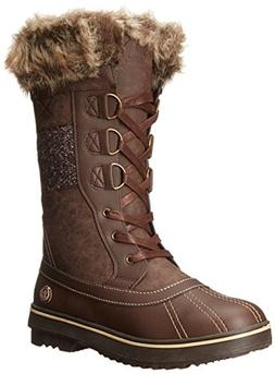 Northside Women's Bishop Snow Boot, Brown/Tan, 7 M US