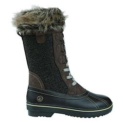 Northside Women's Bishop Snow Boot, Chocolate, 8 Medium US