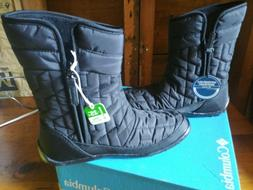 women s black winter boots size 6