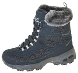 Skechers Women's D'Lites-Snow Plaza Winter Boots Style 48634
