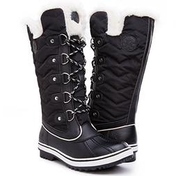 women s globalwin black1711 waterproof winter boots