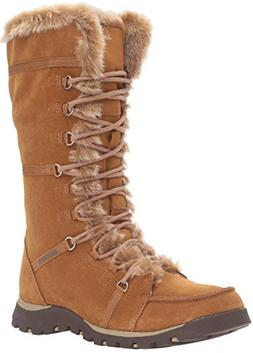 Skechers Women's Grand Jams Unlimited Winter Boot,Light Tan,