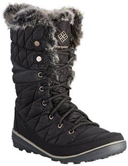 Columbia Women's Heavenly Omni-Heat Lace Up Winter Boots Bla