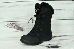 Columbia Women's Ice Falls Winter Insulated Snow Boot Black
