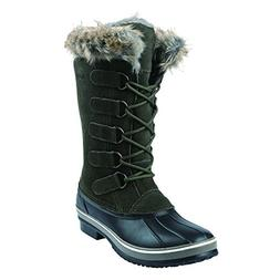 Northside Women's Kathmandu Snow Boot, Olive, 7 Medium US