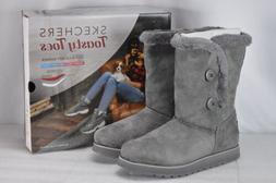 Women's Skechers Keepsakes Sole Seeker Winter Boots Charcoal
