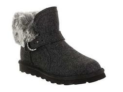 BEARPAW Women's Koko Boots Grey Flannel Fur Lined Winter Boo