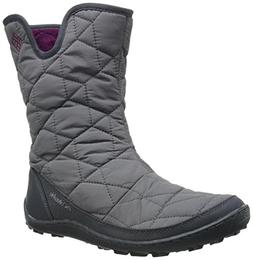 Columbia Women's Minx Slip II Omni-Heat Snow Boot, Shale, Da