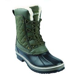women s modesto snow boot olive 9