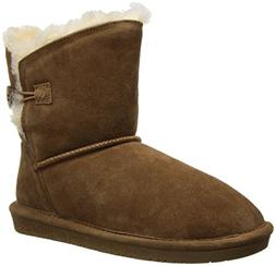 BEARPAW Women's Rosie Winter Boot, Hickory, 8 M US