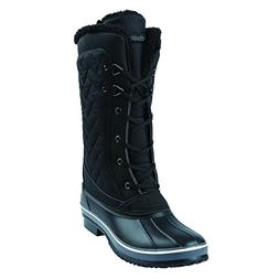 Northside Women's Sacramento Snow Boot, Black, 9 Medium US