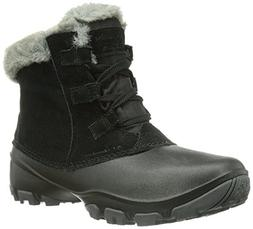 Columbia Women's Sierra Summette Shorty Snow Boot, Black, Re