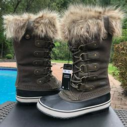 Sorel Women's Size 6.5 & 8 Joan of Arctic Waterproof Suede B